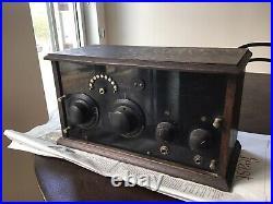 Home Brew Vintage 2 Peanut Tube Kit Radio Receiver