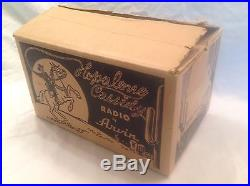 Hopalong Cassidy Radio by Arvin Box ONLY vintage western toy