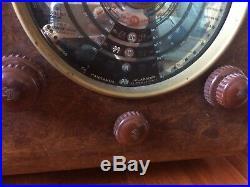 Imca Radio IF121 Pangamma FM tube radio vintage