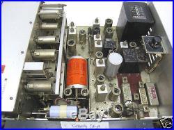 JRC Japan Radio NRD-1EL Vintage 18 tubes Receiver