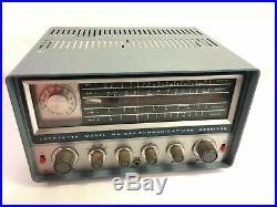 Lafayette Ham Radio Vintage Tube Receiver Model HA-63A Made In Japan