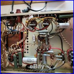 Lafayette LA-55 Vintage Tube Mono IntergratedAmp Amplifer Radio Reciever EL-84