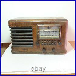 Lafayette Vintage Wooden Radio 1930s