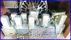Late 50's Vintage Zenith AM/FM Radio Model 835R The Super Symphonaire Nice
