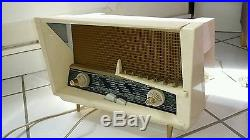 Le Corbusier radio tsf valve tube 1958 design vintage RA248A idem philips