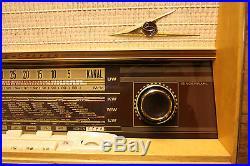 Loewe Opta Venus Stereo 6786W, german vintage tube radio, restored