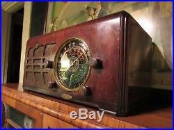Mantola vintage tube radio B F Goodrich