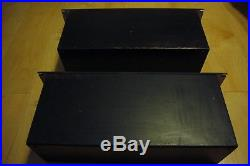 Matched pair vintage RCA 41-B/ 41B 1603 tube preamp 30' from new york radio c