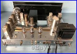 McIntosh MR67 Stereophonic FM Tuner Vacuum Tube Vintage Radio 1960's with Orig Box