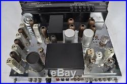 McIntosh MX 110 Z Vacuum Tube Stereo FM Radio Tuner Preamplifier Vintage