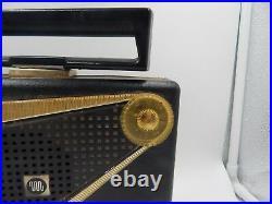 Motorola Model 55L1U Portable Tube Radio 1955 Vintage Retro