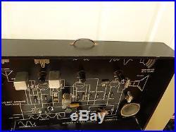 NICE Vintage Welch Tube Radio Dynamic Demonstrator RCA Like 1950's Breadboard