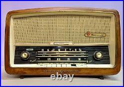 NORDMENDE Sterling Turandot Vintage Tube Am/FM Radio USED