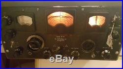 Nice Vintage Hallicrafters Super Skyrider SX-28 Ham Radio Tube Receiver