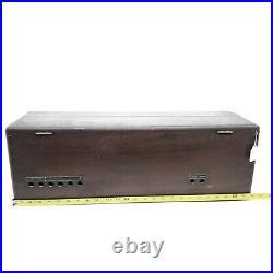 No Tubes Vintage Atwater Kent Model 20 Tube Radio Receiving Set Wood Box 1920's