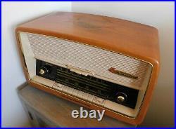 NordMende Turandot 59 Broadcast Receiver Vintage Tube Radio Original Cover