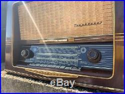 Nordmende Tannhauser 57 vintage german tube radio Tannhäuser Tannhaeuser 57-3D