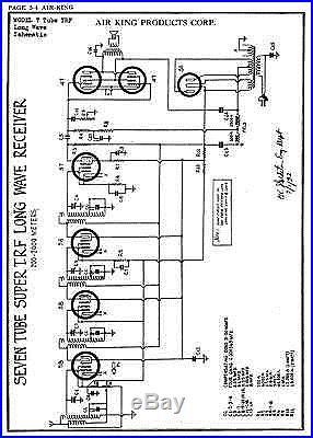 OVER 50 FULL VOLUMES OF VINTAGE TUBE RADIO SCHEMATICS