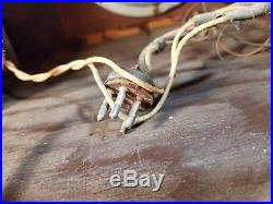 Old Antique Wood Sentinel Super Vintage Tube Radio Table Top Parts or Repair