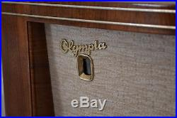 Olympia 562W Radio Vintage wooden tube working Sachsenwerk Niedersedlitz