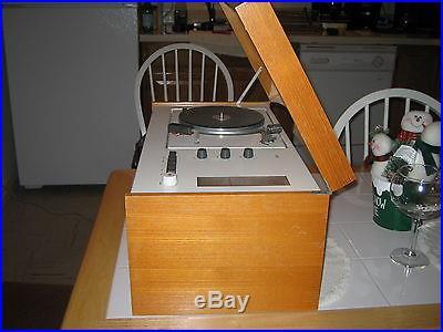 Original Vintage BRAUN SK55 Dieter Rams Design Tube Radio Gugelot Radiogram