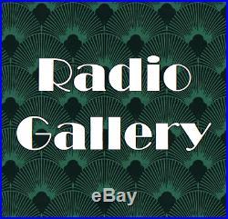 Outstanding! Restored Antique Vintage 1947 ADMIRAL Black Bakelite Tube Radio