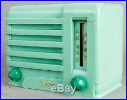 PREWAR 1939 GREEN Emerson EMERSONETTE bakelite vintage vacuum tube radio