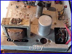 Paco mx 100 tube multiplex adapter rare Pacotronics NY vintage tubes radio am/fm