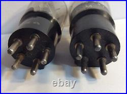 Pair (2) PTT0 French RT Audio Radio Vintage Tube Akin of Western Electric 104D