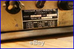 Panoramic Pan-Adapter Vintage Tube Ham Radio Tube Looks Great