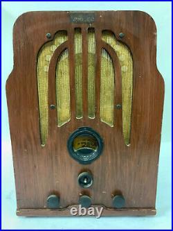 Philco 37-361 Cathedral Antique Tube Radio Classic Vintage Original