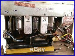 Philco Model 53-651 Tube 1950's Radio Mid Century Modern Brown Vintage RARE