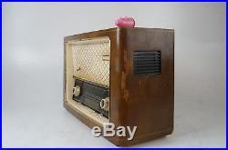 Philips 1001 Röhrenradio gecheckt Eleltrostaten Hochtöner Tube Radio Vintage