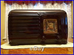 Pilot Lone Ranger Antique Vintage Old Portable Bakelite Novelty Tube Radio