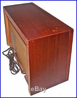 RAREVintage 1960 GE T-150 Musaphonic Tabletop 6-Tube Dual Speaker Radio! WORKS