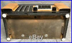 RARE 1938 Stewart Warner MAGIC KEYBOARD vintage ART DECO vacuum tube RADIO