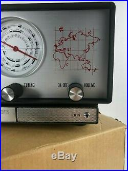 RARE 1970 Vintage Unelco Model 1914 Overseas Shortwave All Bands Tube RadioNEW