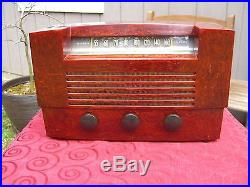 RCA 66X8 Catalin Vintage Radio