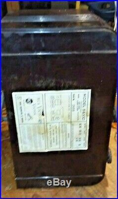 RCA VICTOR 56X10 Antique RADIO Working! Bakelite Tube Vintage RARE works Old