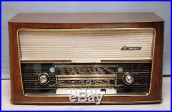 RESTORED + SERVICED! NORDMENDE OTHELLO 58 3D VINTAGE TUBE RADIO Antique Art Deco