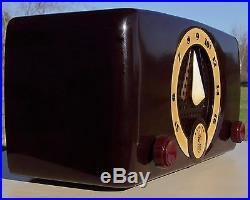 RESTORED Vintage 1952 ZENITH K510 Classic Antique Bakelite