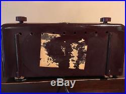 RESTORED Vintage Zenith FM Radio Model 7H918