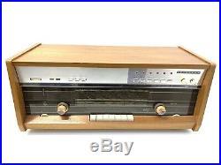 Radio PHILIPS B8X44A INTERCOM FM Stereo Vaccum Tube Vintage 1964 Working LikeNew