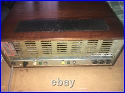 Radio RIM Vintage Tube Stereo Amplifier Maestro 1000 ELL80 48 Ohm Speaker