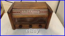 Radiola Radio 61-5 Vintage Tube Antique RCA Excellent Wood