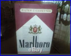 Rare Marlboro Cigarettes Big Tube Radio Vintage 1953