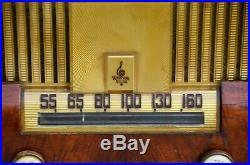 Rare VTG (1949) Emerson 615 Series B AM Broadcast Tube Radio Receiver