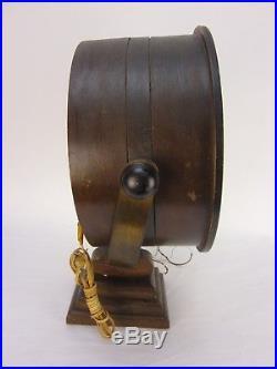 Rare Vintage G & F Searchlight Radio WORKING