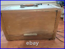 Rare Vintage Hallicrafters Portable Tube Radio TW-600 Shortwave Receiver WORKS