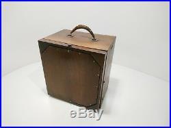 Rare Vintage RCA Radiola 26 Portable Battery Tube Radio Untested